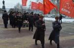 Севастопольские коммунисты отметили 101-ю годовщину создания Советской Армии и Военно-Морского Флота