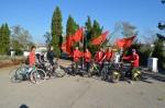 В Севастополе состоялся велопробег в честь столетия Ленинского комсомола