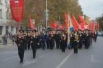 В Севастополе празднуют годовщину Великого Октября. Митинг и демонстрация