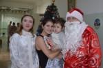 Дед Мороз и Снегурочка из Советского Союза навестили детей в больнице