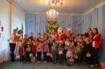 Новогодний праздник для сельской детворы