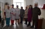 Активисты женской организации «Надежда России» поздравили Ветеранов войны со 101-й годовщиной создания Красной Армии и ВМФ