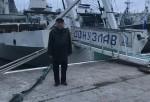 Первый секретарь Городского комитета КПРФ Пархоменко Василий Михайлович поздравил экипаж судна «Донузлав» с годовщиной создания Красной Армии и Военно-Морского Флота
