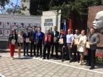 Коммунистов наградили почётными грамотами