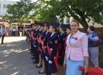 Пастухова Алёна Васильевна поздравила с окончанием учебного года учащихся, педагогический коллектив  и родителей школы  №22