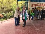 Первый секретарь севастопольского Горкома КПРФ Василий Пархоменко посетил ежегодный фестиваль национальной кухни