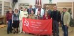 Коммунисты наградили памятной медалью «75 лет освобождения Крыма и Севастополя»  ветеранов и работников ГУП «Водоканал»