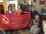 Алена Пастухова вручила памятную медаль «75 лет освобождения Крыма и Севастополя» участнику войны
