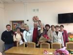 Василий Михайлович Пархоменко поздравил коллектив «Севастопольского городского комплексного центра социального обслуживания»