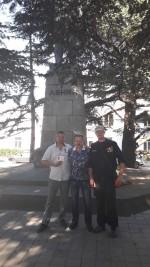 Секретарь Горкома КПРФ Сергей Курочкин  встретился с членами поискового отряда «Сокол»