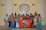 Секретарь Севастопольского горкома КПРФ Сергей Курочкин побывал на отчетном концерте ансамбля арабского танца «Восток»