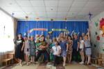 Секретарь Севастопольского горкома КПРФ Сергей Курочкин  наградил памятными медалями сотрудников Детских Садов № 13 и №17
