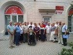 Коммунисты наградили ветеранов пограничных войск памятными медалями