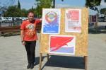 На Северной стороне состоялась выставка политического плаката