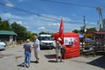 Балаклавские коммунисты продолжают работу информационных постов против произвола власти