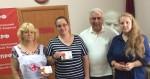 Василий Пархоменко наградил активистов «Красного креста»