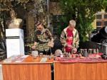 Комсомольцы Севастополя приняли участие в церемонии закрытия состязаний юнармейцев
