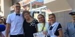 Пастухова Алена Васильевна поздравила учеников 22-й школы с Днём знаний и началом учебного года