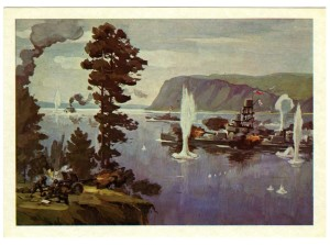 Флотилия на Амуре