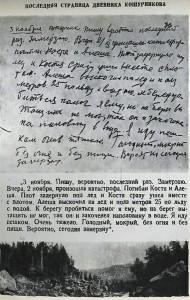 Дневник Кошурникова