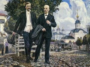 Ленин и Бабцшкин