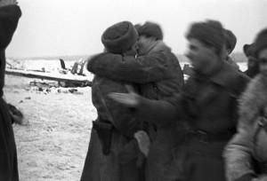 Встреча войск Ленинградского и Волховского фронтов
