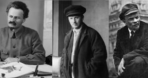 Trockij_LD_1879-1940-Buharin_NI_1888-1938-Lenin_VI_1870-1924