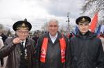Севастопольские коммунисты отметили 102-ю годовщину Дня Советской армии и Военно-Морского Флота