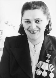 Участница Великой Отечественной войны Елена Мазаник