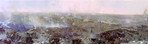 14 панорама Оборона Севастополя художника Ф. А. РУБО.