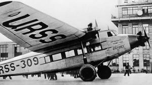 1929 Цельнометаллической АНТ-9 — один из первых отечественных пассажирских самолетов