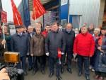 КПРФ ОТПРАВИЛА  В ДОНБАСС 88-Й ГУМАНИТАРНЫЙ КОНВОЙ
