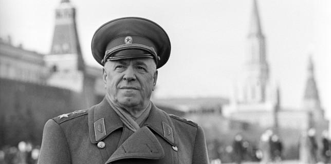 Soviet marshal Georgy Zhukov, 1966