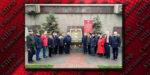 Севастопольские коммунисты и комсомольцы возложили цветы к стеле города-героя Ленинграда в честь окончательного снятия блокады