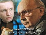 Не стало Андрея Мягкова