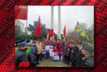 12 апреля севастопольские коммунисты собрались у стелы Юрию Гагарину, чтобы торжественно отметить 60-ю годовщину полёта первого человека в космос. На мероприятии присутствовали комсомольцы, члены Союза советских офицеров и ВСО «Надежда России», малыши и взрослые жители города.