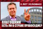 Денис Парфенов о приговоре Николаю Платошкину