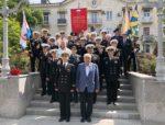 Город – Герой Севастополь отмечает день Черноморского флота ВМФ.